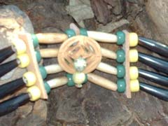 Large Crowbead chokers - Native American Indian Crafts
